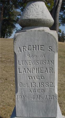 LANPHEAR, ARCHIE S. - Woodbury County, Iowa | ARCHIE S. LANPHEAR