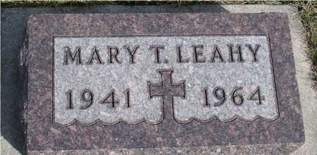 LEAHY, MARY T. - Woodbury County, Iowa | MARY T. LEAHY