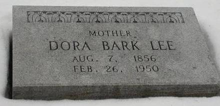 BARK LEE, DORA - Woodbury County, Iowa | DORA BARK LEE
