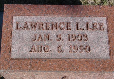 LEE, LAWRENCE L. - Woodbury County, Iowa | LAWRENCE L. LEE