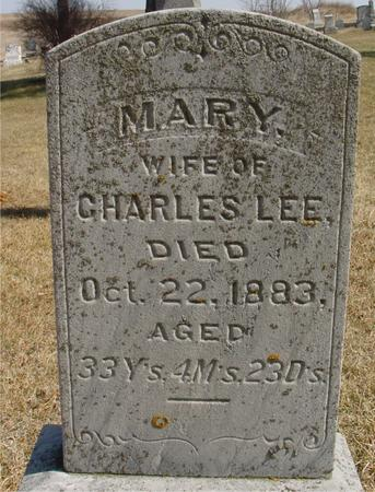 LEE, MARY - Woodbury County, Iowa | MARY LEE