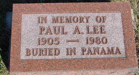 LEE, PAUL - Woodbury County, Iowa | PAUL LEE