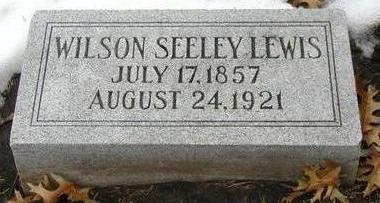 LEWIS, WILSON SEELEY - Woodbury County, Iowa | WILSON SEELEY LEWIS