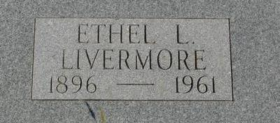 LIVERMORE, ETHEL L. - Woodbury County, Iowa | ETHEL L. LIVERMORE