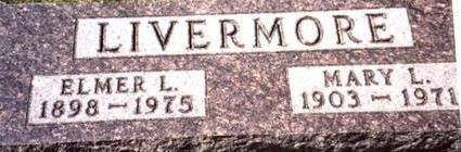 LIVERMORE, ELMER & MARY - Woodbury County, Iowa | ELMER & MARY LIVERMORE