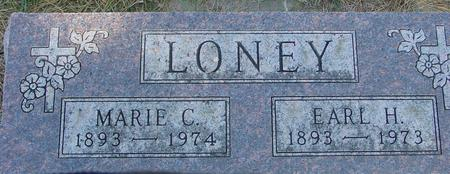 LONEY, EARL & MARIE - Woodbury County, Iowa | EARL & MARIE LONEY