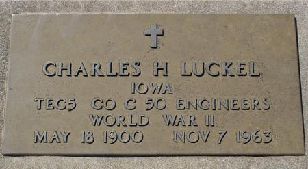 LUCKEL, CHARLES H. - Woodbury County, Iowa | CHARLES H. LUCKEL
