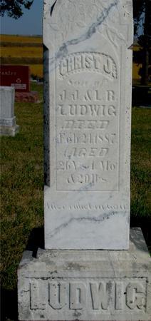 LUDWIG, CHRIST J. - Woodbury County, Iowa | CHRIST J. LUDWIG