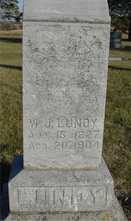 LUNDY, W. J. - Woodbury County, Iowa | W. J. LUNDY