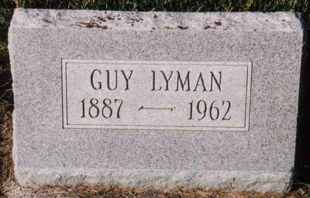 LYMAN, GUY - Woodbury County, Iowa | GUY LYMAN