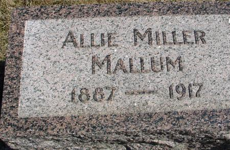 MALLUM, ALLIE - Woodbury County, Iowa | ALLIE MALLUM