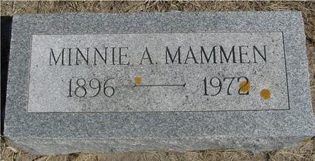MAMMEN, MINNIE A. - Woodbury County, Iowa | MINNIE A. MAMMEN
