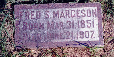 MARGESON, FRED - Woodbury County, Iowa | FRED MARGESON
