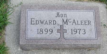 MCALEER, EDWARD - Woodbury County, Iowa | EDWARD MCALEER