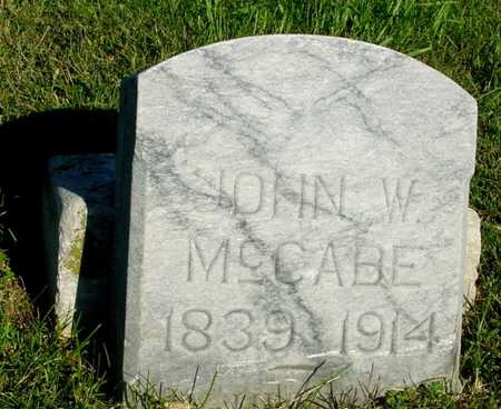 MCCABE, JOHN W. - Woodbury County, Iowa | JOHN W. MCCABE