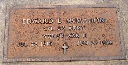 MCMAHON, EDWARD L. - Woodbury County, Iowa   EDWARD L. MCMAHON