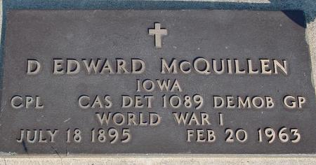 MCQUILLAN, D. EDWARD - Woodbury County, Iowa | D. EDWARD MCQUILLAN