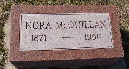 MCQUILLAN, NORA - Woodbury County, Iowa | NORA MCQUILLAN