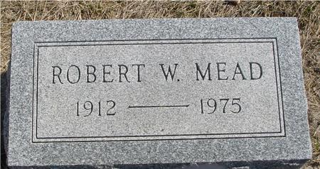 MEAD, ROBERT W. - Woodbury County, Iowa | ROBERT W. MEAD