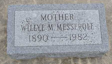 MESSEROLE, WILLYE - Woodbury County, Iowa | WILLYE MESSEROLE