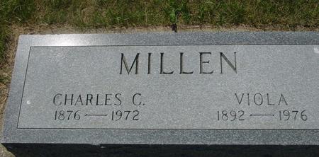 MILLEN, CHARLES - Woodbury County, Iowa | CHARLES MILLEN