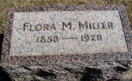 MILLER, FLORA M. - Woodbury County, Iowa | FLORA M. MILLER