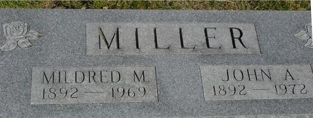 MILLER, JOHN A. & MILDRED M. - Woodbury County, Iowa | JOHN A. & MILDRED M. MILLER