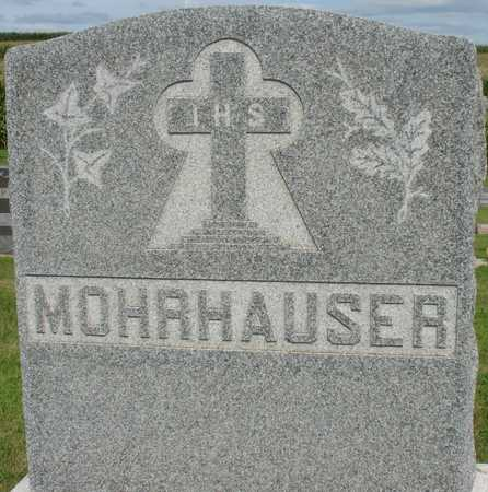 MOHRHAUSER, FAMILY MARKER - Woodbury County, Iowa | FAMILY MARKER MOHRHAUSER