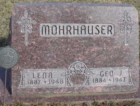 MOHRHAUSER, GEORGE & LENA - Woodbury County, Iowa | GEORGE & LENA MOHRHAUSER