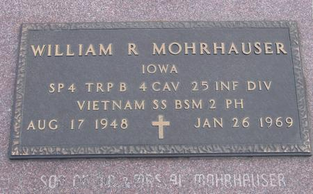 MOHRHAUSER, WILLIAM R. - Woodbury County, Iowa | WILLIAM R. MOHRHAUSER