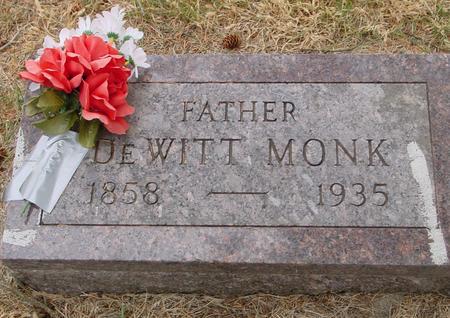 MONK, DEWITT - Woodbury County, Iowa   DEWITT MONK
