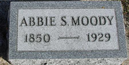 MOODY, ABBIE S. - Woodbury County, Iowa | ABBIE S. MOODY