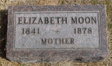 MOON, ELIZABETH - Woodbury County, Iowa | ELIZABETH MOON