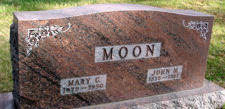 MOON, JOHN M. & MARY C. - Woodbury County, Iowa | JOHN M. & MARY C. MOON