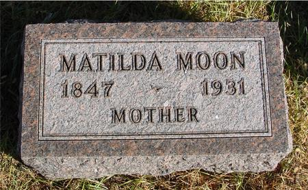 MOON, MATILDA - Woodbury County, Iowa | MATILDA MOON
