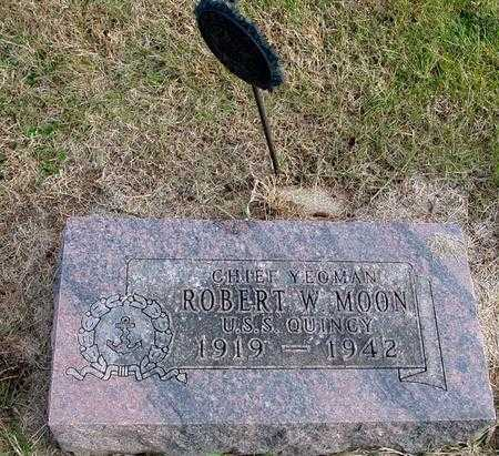 MOON, ROBERT W. - Woodbury County, Iowa | ROBERT W. MOON