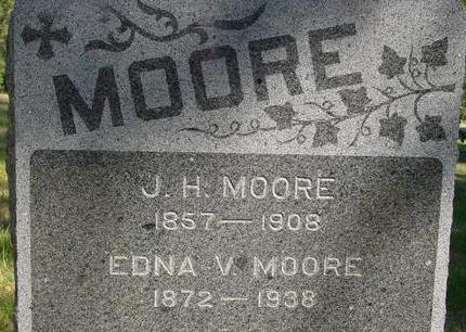 MOORE, J. H. & EDNA - Woodbury County, Iowa | J. H. & EDNA MOORE