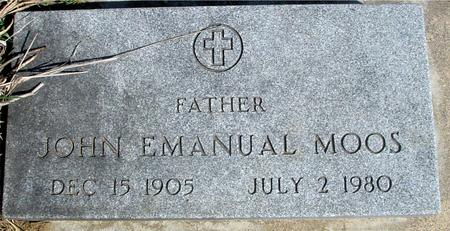 MOOS, JOHN EMANUEL - Woodbury County, Iowa | JOHN EMANUEL MOOS