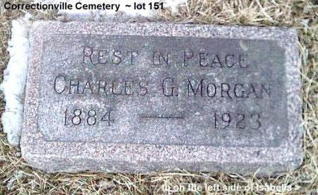 MORGAN, CHARLES G. - Woodbury County, Iowa | CHARLES G. MORGAN