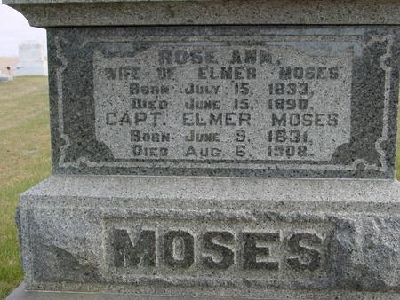 MOSES, ELMER & ROSE ANN - Woodbury County, Iowa | ELMER & ROSE ANN MOSES
