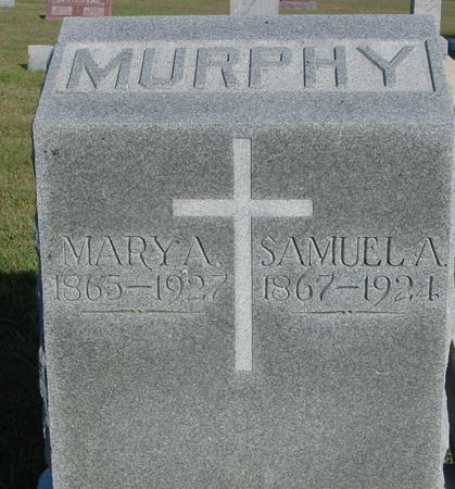 MURPHY, SAMUEL & MARY - Woodbury County, Iowa | SAMUEL & MARY MURPHY