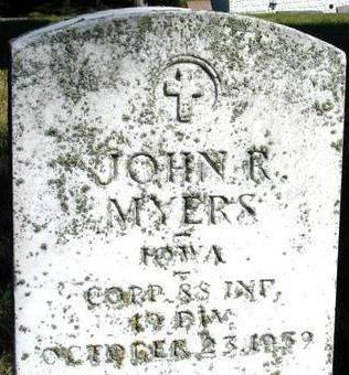 MYERS, JOHN R. - Woodbury County, Iowa | JOHN R. MYERS