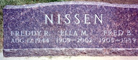 NISSEN, FRED - Woodbury County, Iowa | FRED NISSEN