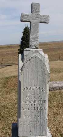 OBERREUTER, JOSEPH B. - Woodbury County, Iowa | JOSEPH B. OBERREUTER