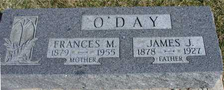 O'DAY, JAMES & FRANCES - Woodbury County, Iowa | JAMES & FRANCES O'DAY