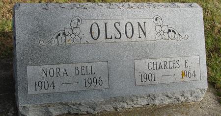 OLSON, CHARLES & NORA BELL - Woodbury County, Iowa | CHARLES & NORA BELL OLSON
