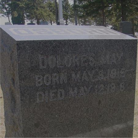 OSBORN, DOLORES MAY - Woodbury County, Iowa | DOLORES MAY OSBORN