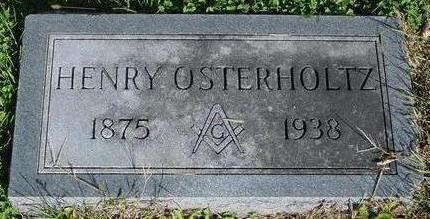 OSTERHOLTZ, HENRY - Woodbury County, Iowa | HENRY OSTERHOLTZ