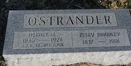 OSTRANDER, HORACE L. & MARY - Woodbury County, Iowa | HORACE L. & MARY OSTRANDER