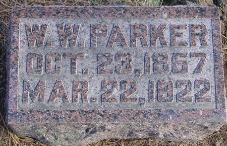 PARKER, W. W. - Woodbury County, Iowa | W. W. PARKER